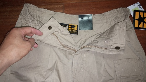 [Propper] LightWeight Tactical Short (Khaki)-1.jpg